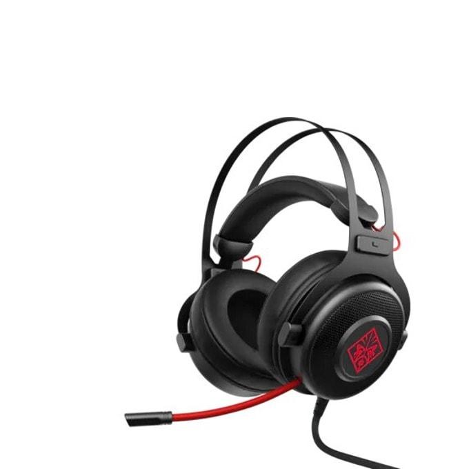 Слушалки HP OMEN 800 Headset, микрофон, 53mm driver, съраунд, 3.5 mm jack, черни image