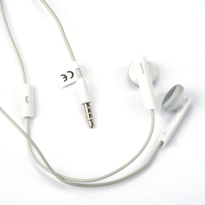 Слушалки Huawei Stereo Headset, микрофон, управление на звука за Huawei мобилни устройства, бели image