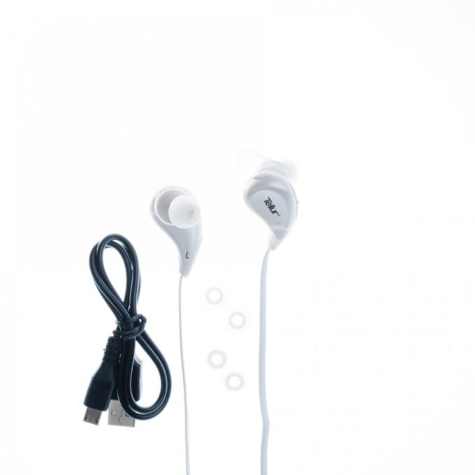 Слушалки Tellur In-Ear Sport, Athlete series, Bluetooth, бели  image