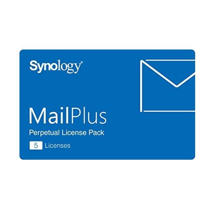 Сървърен софтуер Synology MailPlus License Pack, английски, лиценз за 5 акаунта image