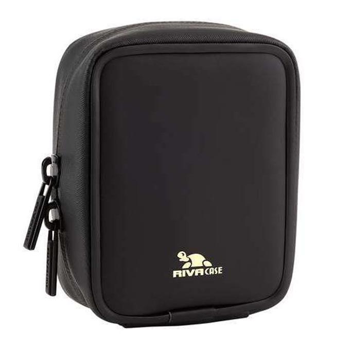 Чанта за фотоапарат Rivacase 1100 (LRPU) Antishock за компактни фотоапарати, противоударна, полиуретан, черна image