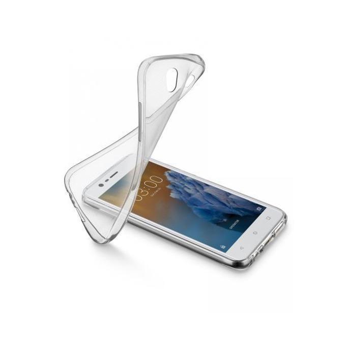 Kалъф за Nokia 2.1 (2018), силиконов, Cellular Line Fine, прозрачен image