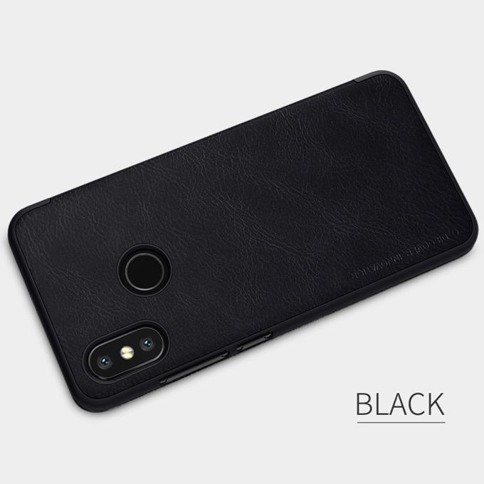 Калъф за Xiaomi Mi 8, луксозен Flip калъф, Nillkin, черен image
