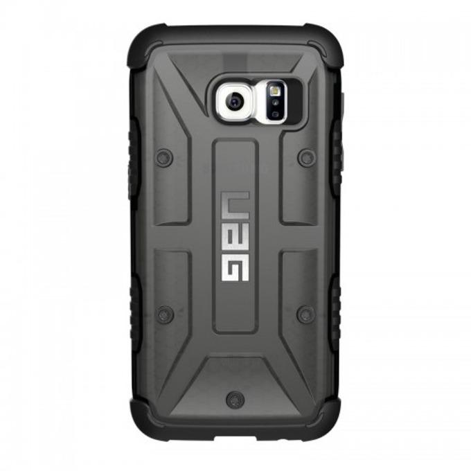Хибриден кейс Urban Armor Gear Scout, Galaxy S7, удароустойчив, тъмнопрозрачен-черен image