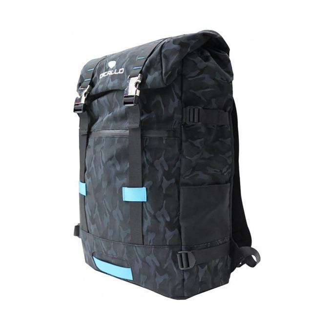 """Раница за лаптоп Dicallo LLB969017BB, до 17.3"""" (43.94 cm), полиестер, отделение за таблет, черна-синя image"""