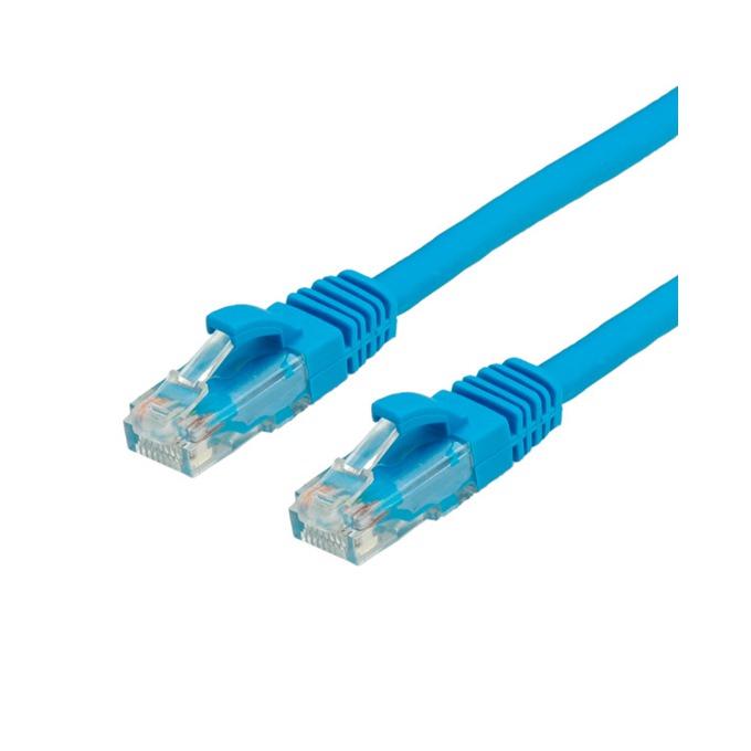 Пач кабел ROLINE 21.15.1534, UTP, Cat.6, 1 м, син, AWG26 image