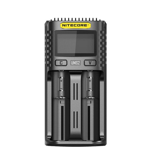 Зарядно устройство Nitecore UMS2, за батерии IMR, Li-ion, LiFePO4, Ni-Cd, Ni-Mh image