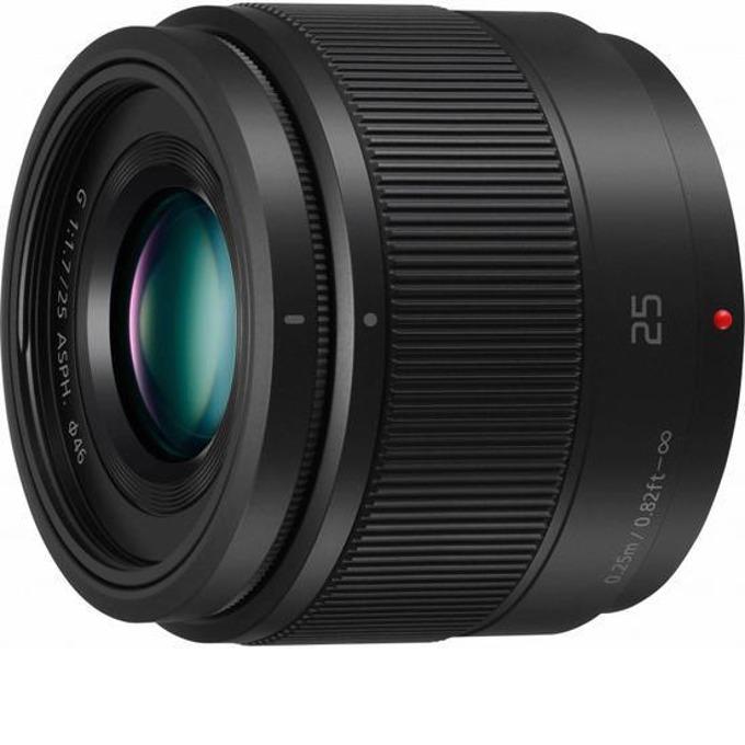 Panasonic LUMIX G 25mm f/1.7 Black за Micro 4/3