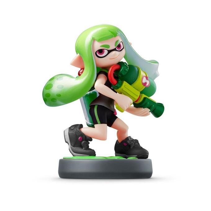 Nintendo Amiibo - Green Girl [Splatoon] product
