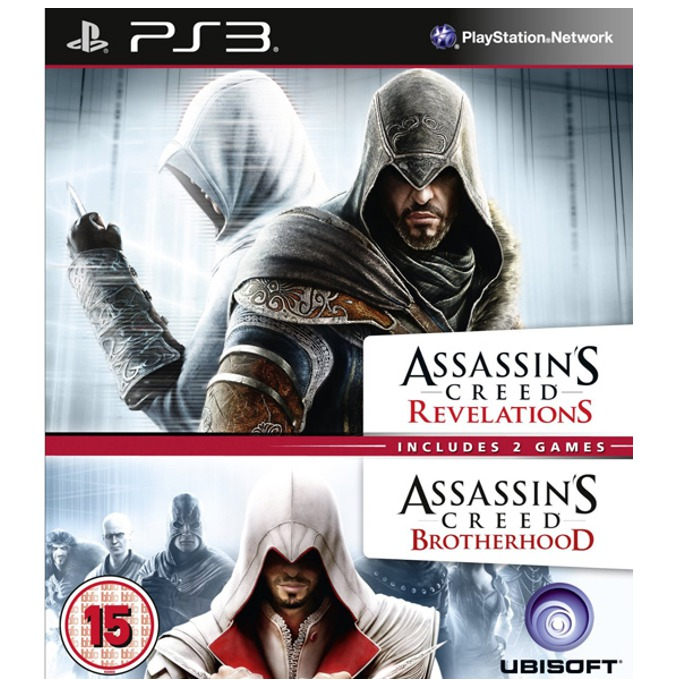 Игра за конзола Assassin's Creed Brotherhood and Assassin's Creed Revelations Double Pack, за PlayStation 3 image