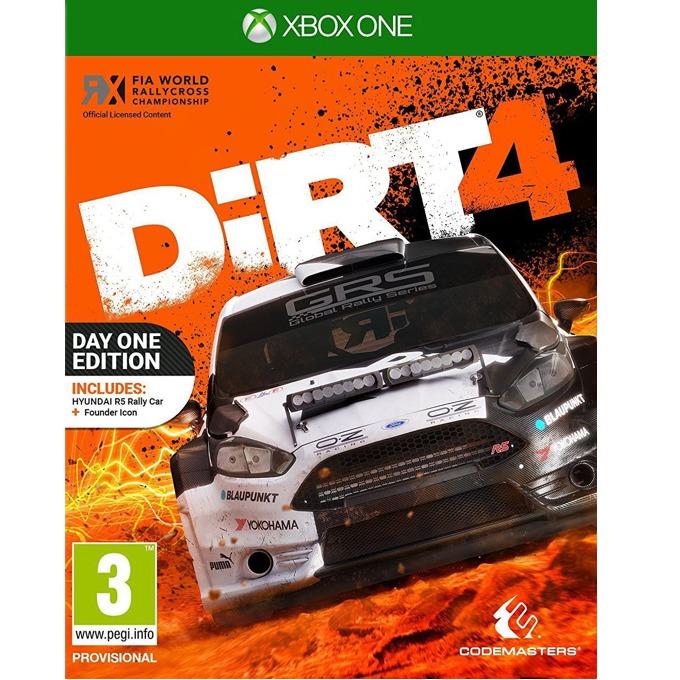 Игра за конзола DiRT 4, за Xbox One image