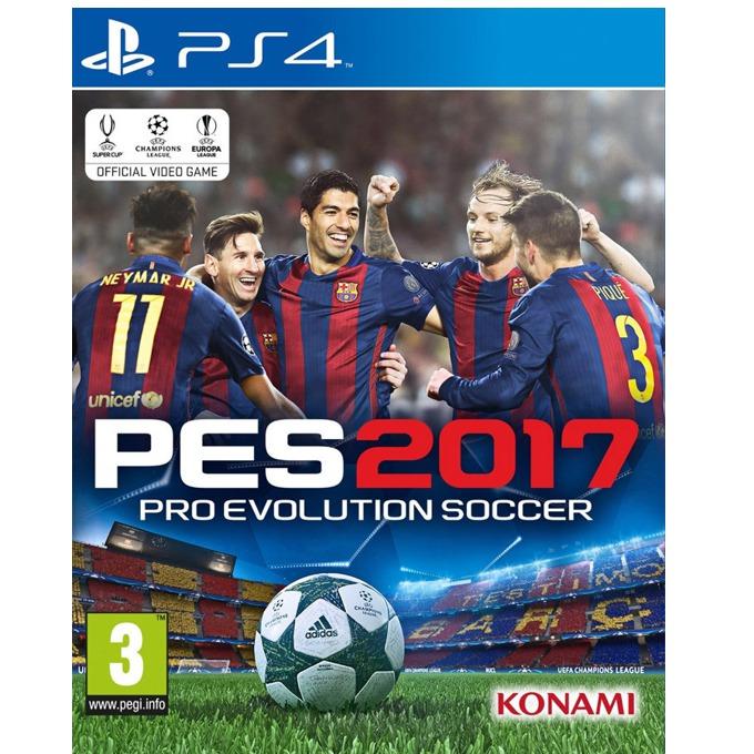 Игра за конзола Pro Evolution Soccer 2017, за PS4 image