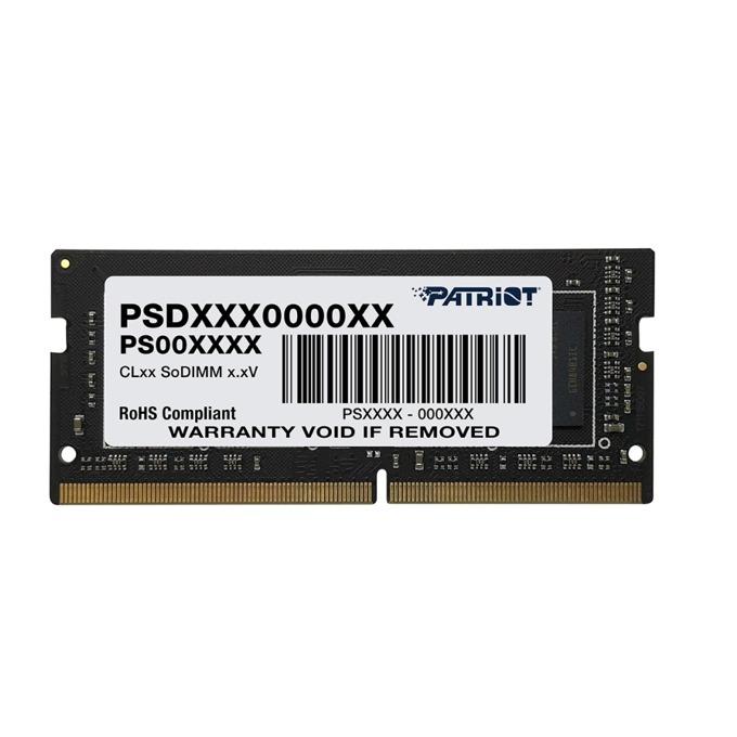 Памет 4GB DDR4 2400MHz, Patriot Signature PSD44G240082S, 1.2V image