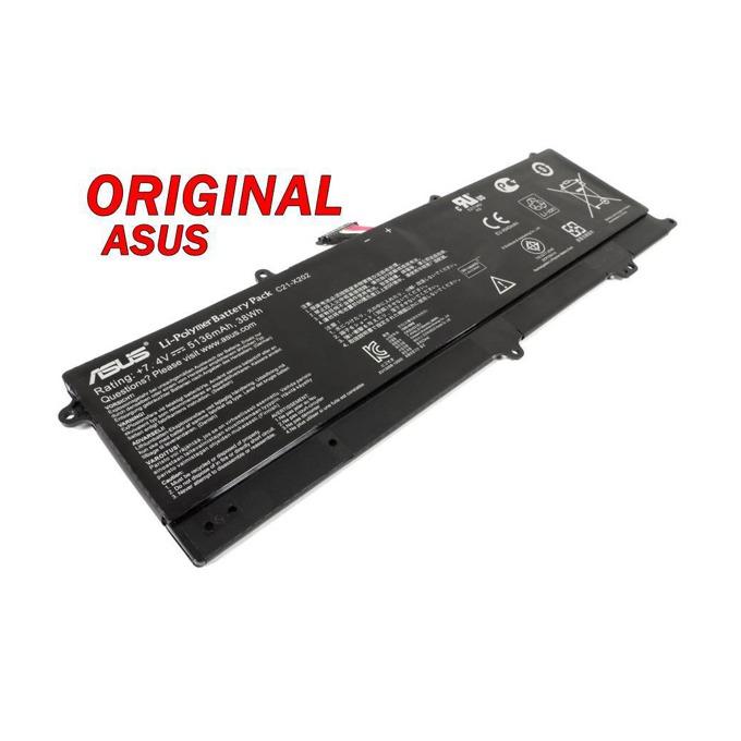 Батерия (оригинална) Asus VivoBook, съвместима с S200E/X201E/X202E, Li-ion, 7.4V, 5136mAh image