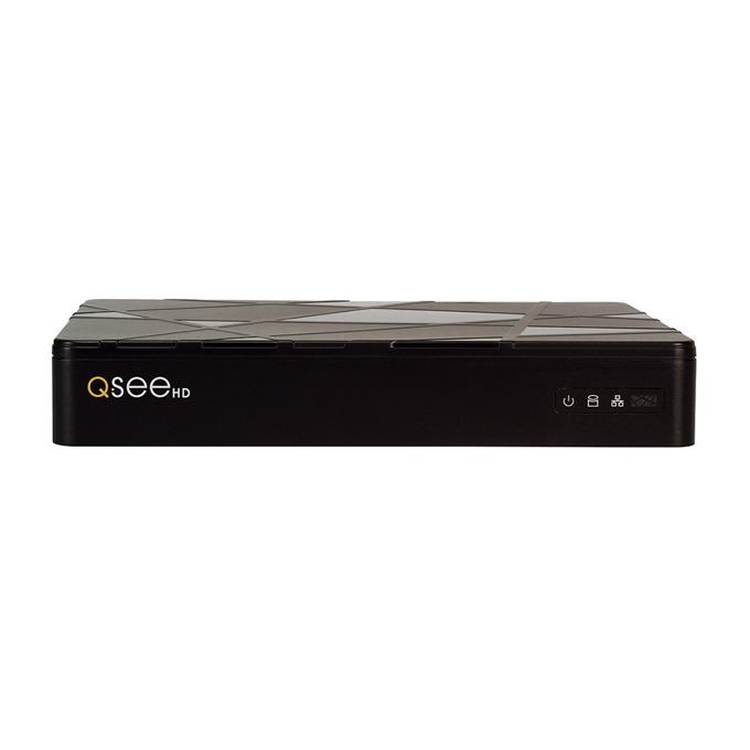 IP видеорекордер Q-See QT878, 8 канала, H.264, 1x SATA, 2x USB 2.0, 8x LAN 10/100Mbps(PoE), HDMI, VGA image