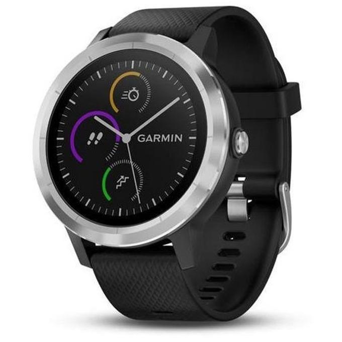 Смарт часовник Garmin Vivoactive 3 010-01769-02, Bluetooth 4.0, водоустойчив, пулс монитор, GPS, NFC, черен image