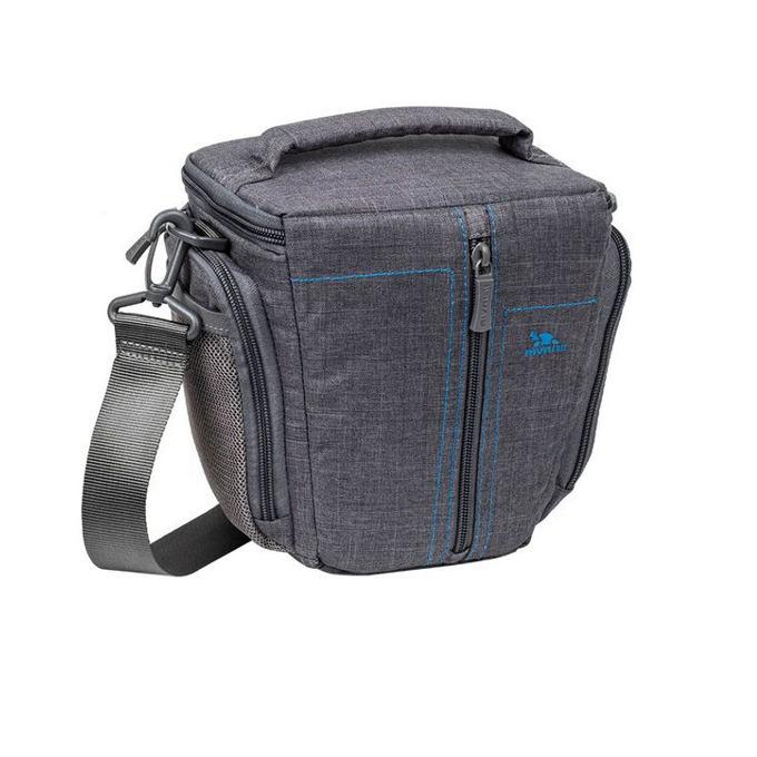 Чанта за фотоапарат Rivacase 7501 за SLR/DSLR фотоапарати, полиестер, сива image