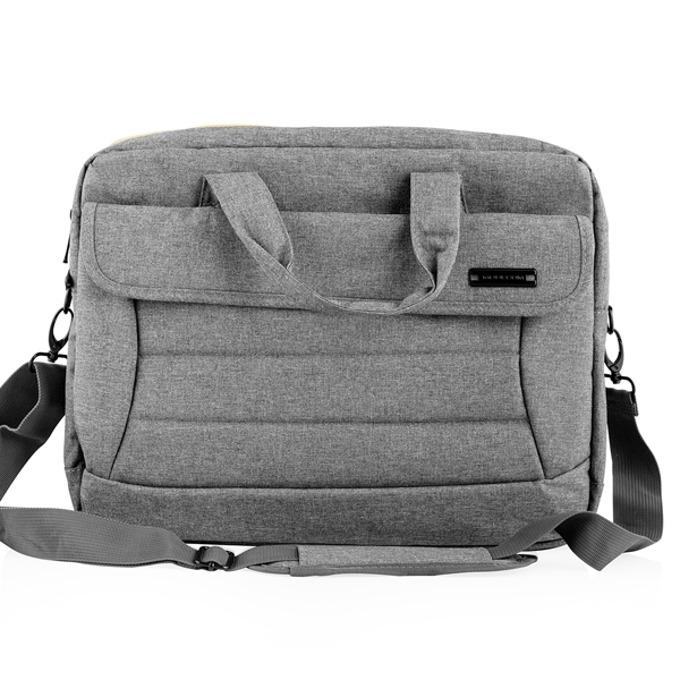 """Чанта за лаптоп Modecom Charlotte Grey до 15.6"""" (39.62cm), водоустойчива, сива image"""