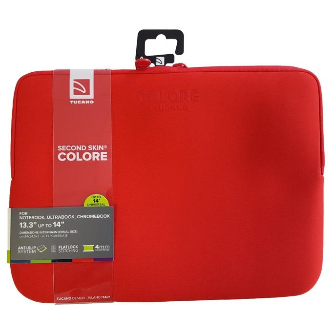 "Калъф за лаптоп TUCANO BFC1314-R, 13.3-14""(33.78-35.56cm), червен image"