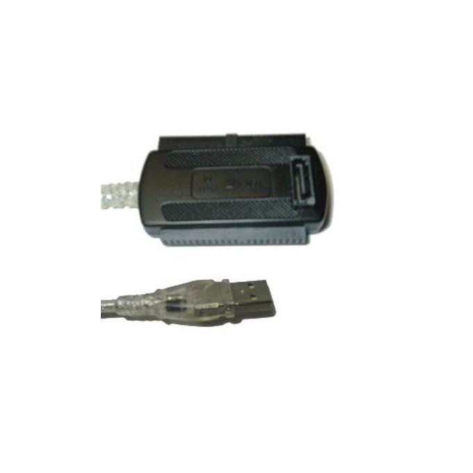 """Преходник Makki, от USB A 2.0(м) към SATA/IDE(м), за 2.5""""/3.5"""" дискове image"""