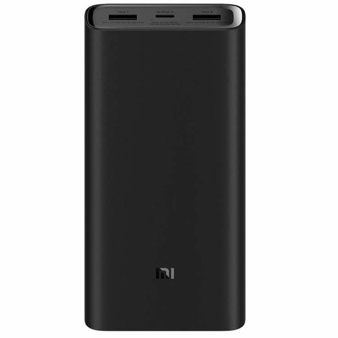 Външна батерия/power bank/ Xiaomi Power Bank 3 Pro, 20000 mAh, черна image