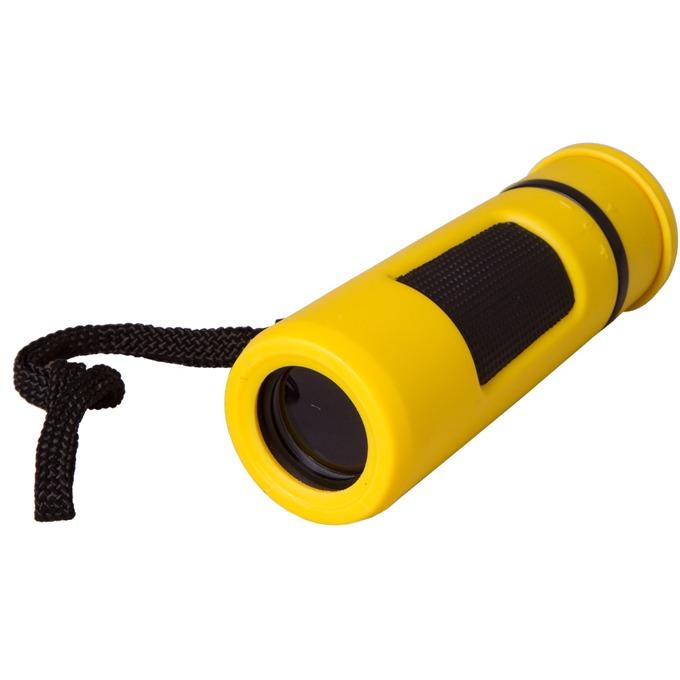 Монокъл Bresser Topas 10x25, 10x оптично увеличение, диаметър на лещата 25mm, жълт image