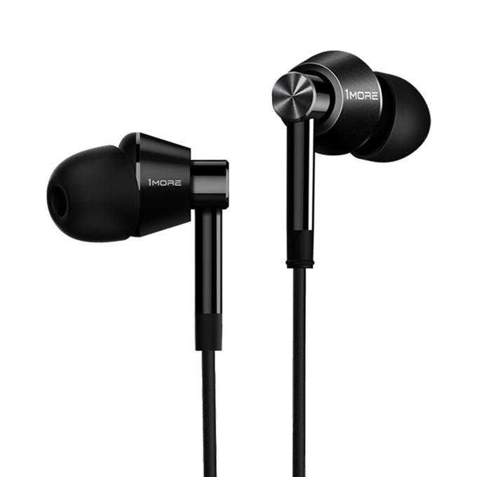 Слушалки 1MORE Dual Driver, микрофон, Dual Driver технология, контрол на звука, черни image