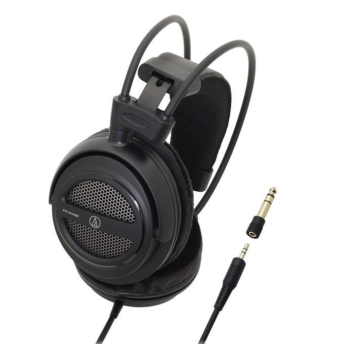 Слушалки Audio-Technica ATH-AVA400, 40мм говорители, 3.5мм позлатен жак, 3м кабел, черни image