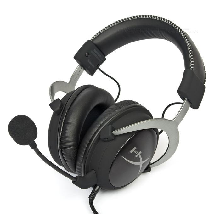 Слушалки Kingston HyperX Cloud II Gunmetal, геймърски, микрофон, черни/сиви image