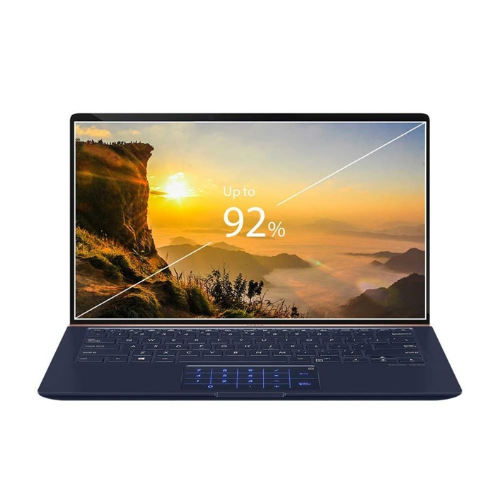 "Лаптоп Asus ZenBook UX433FA-A5085T (90NB0JR1-M05040)(син), четириядрен Whiskey Lake Intel Core i7-8565U 1.8/4.6 GHz, 14.0"" (35.56 cm) Full HD Anti-Glare Display, (HDMI), 8GB, 256GB SSD, 1x USB 3.1 Type C, Windows 10, 1.09 kg image"