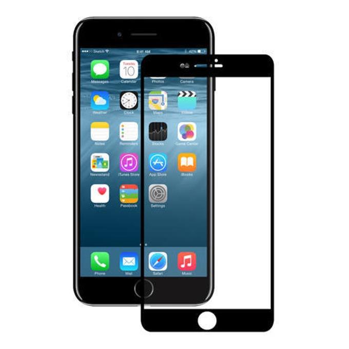 Протектор от закалено стъкло /Tempered Glass/ Eiger EGSP00141, за Apple iPhone 6/6S/7/8, черна рамка image