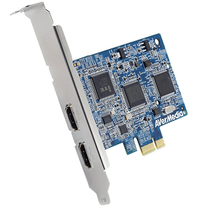 Кепчър AVerMedia DarkCrystal HD SDK C727, 1080i, PCIe x1, 2x HDMI image