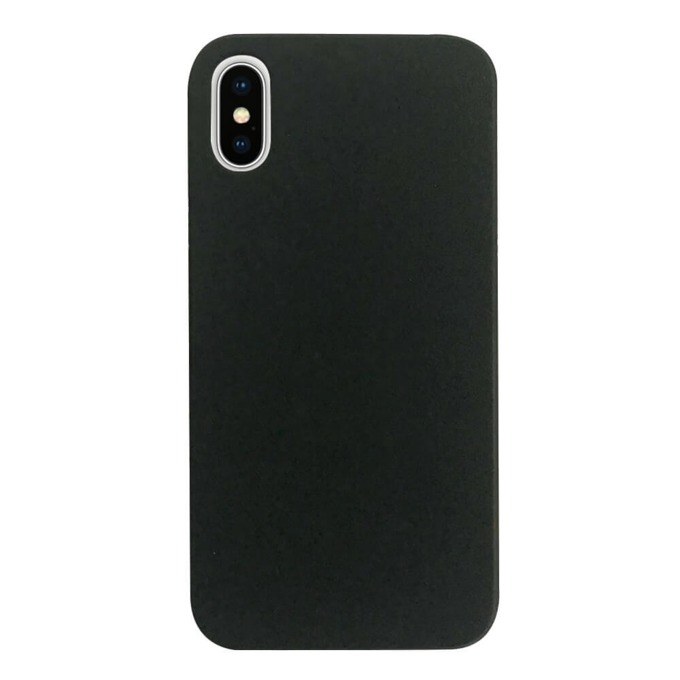 Калъф за Apple iPhone XS Max, поликарбонатов, Case FortyFour No.3 CFFCA0118, черен image