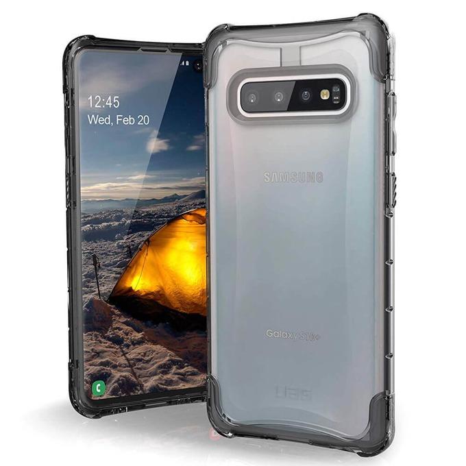 Калъф за Samsung Galaxy S10+, хибриден, Urban Armor Plyo 211352114343, удароустойчив, прозрачен image
