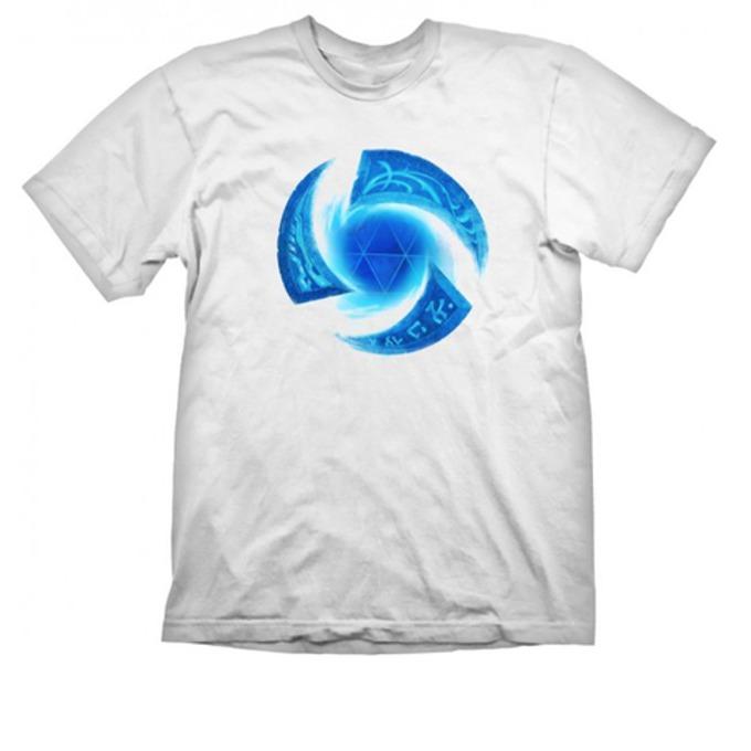 Тениска Gaya, Heroes of the Storm Symbol, размер M, бяла image