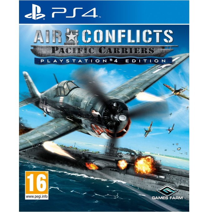 Игра за конзола Air Conflicts: Pacific Carriers, за PS4 image