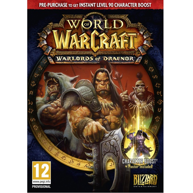 Игра World of WarCraft: Warlords of Draenor, за PC image