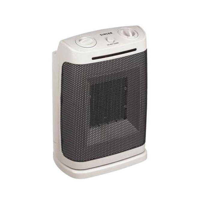 Вентилаторна печка Singer SFH-34 CAO, 1800 W, 2 степени, механично управление, защита от прегряване, светлинен индикатор, функция автоматично завъртане, бяла image