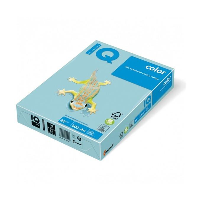 Хартия Mondi IQ Color MB30, A4, 80 g/m2, 500 листа, синя image