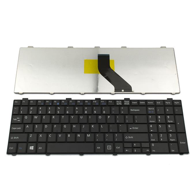 Клавиатура за Fujitsu Lifebook AH512/AH530/AH531, US, черна image