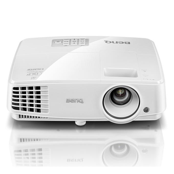 Проектор BenQ MS527, DLP, 3D Ready, SVGA, 3300 lm, 13 000:1, USB, HDMI image