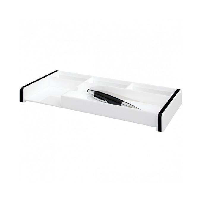 Органайзер за бюро Wedo Acrylic Montego 1600, бял image
