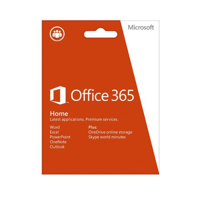 MS Office 365 Home, 32/64-bit, Английски, електронен лиценз, 1г. абонамент (само ключ за активация) image