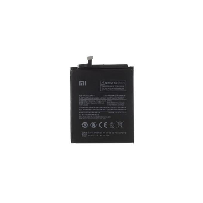Батерия (оригинална) Xiaomi BN31 за Xiaomi Mi 5X, Redmi Note 5A/5A Pro, 3000mAh/3.85V, bulk image