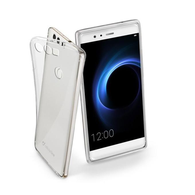 Страничен протектор с гръб за Huawei Honor 8, прозрачен image