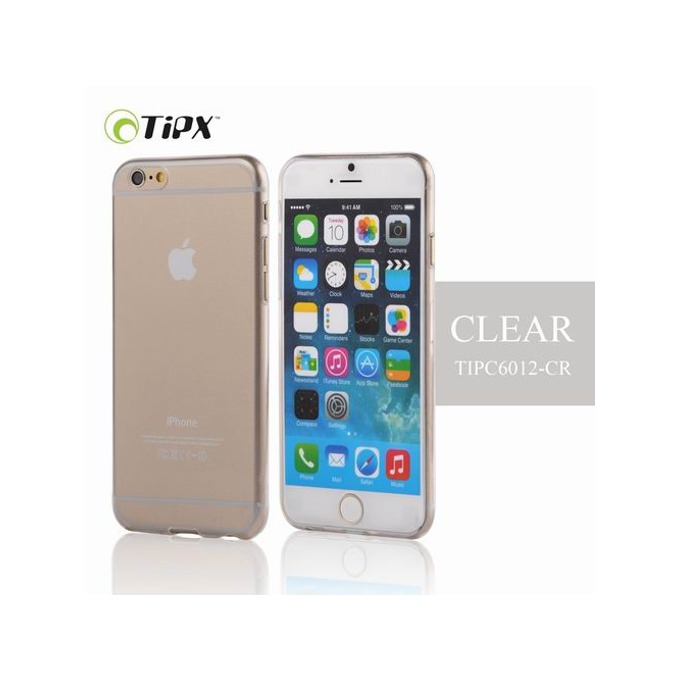 Силиконов протектор Tipx Ticon Case за Apple iPhone 6, силиконов (TPU), 0.4 mm, прозрачен image