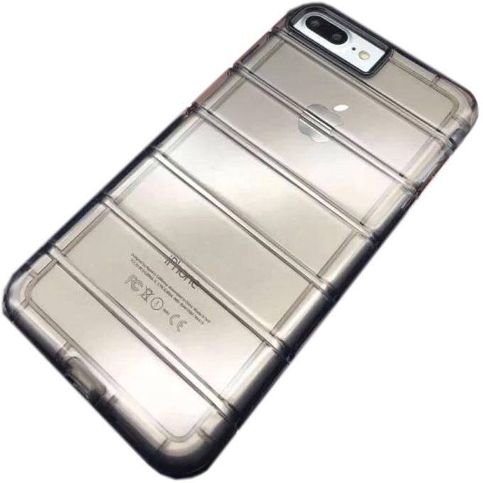 Силиконов протектор DeTech, Ultra thin за iPhone 7/7S, черен image