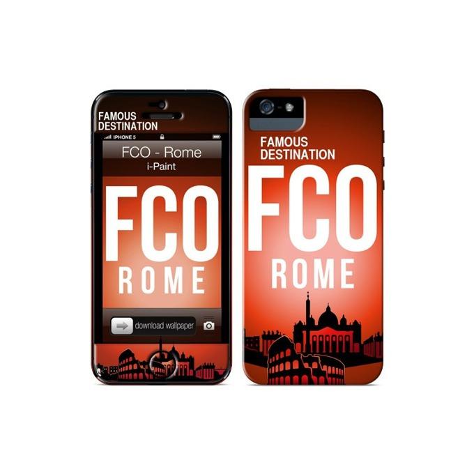 Протектор iPaint Rome Case за iPhone 5/5S, термополиуретанов image