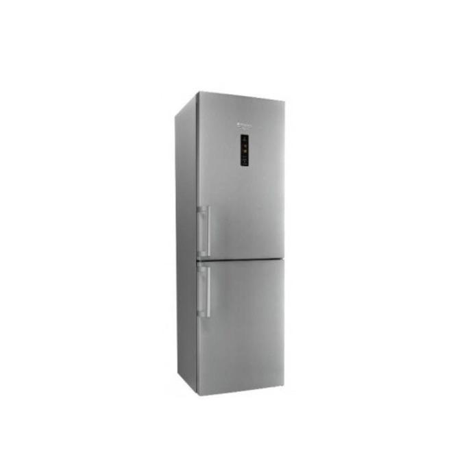 Хладилник с фризер Hotpoint-Ariston XH8 T2Z X0JZH INOX, клас А++, 340 л. общ обем, свободностоящ, 273 kWh/годишно, антибактериално покритие, Super Cool функция, инокс image