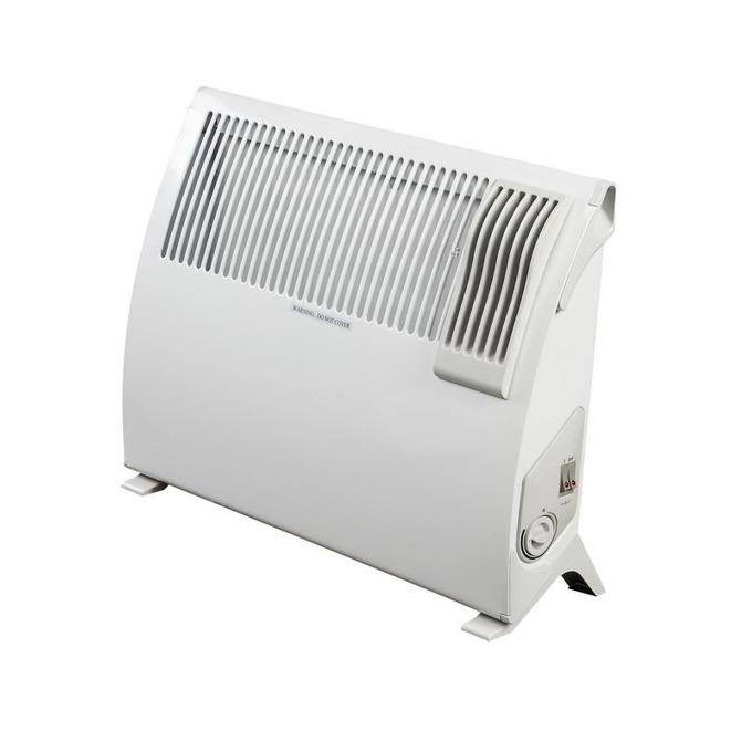 Конвектор Finlux FMCC-20181F, с вентилатор, 3 степени, термостат, терморегулатор, 2000W, бял image